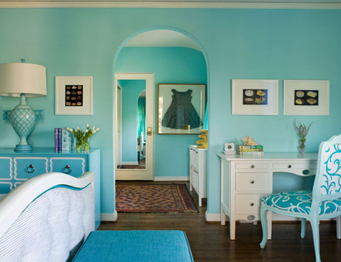 monochromatic mania rooms with single color schemes